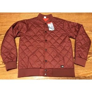 THE NORTH FACE JESTER JACKET REVERSIBLE BROWN M